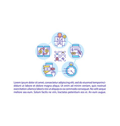 Biometric payments concept icon with text vector