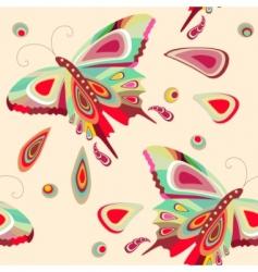 Butterflies pattern vector
