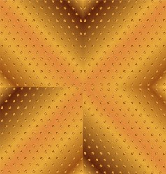 Gold Background With Stripes and Dotted vector