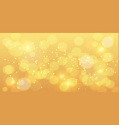 golden bokeh background gold bokeh magic vector image