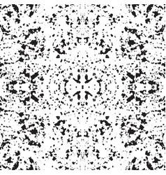 Grunge symmetric pattern vector