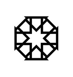 Islamic ornament design vector