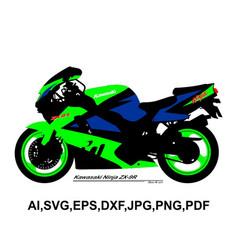 Kawasaki ninja zx-9r vector