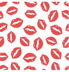 lips pattern 1 vector image