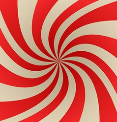 Red and beige abstract twirl background vector