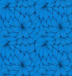 Seamless pattern curls vector