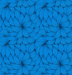 seamless pattern of curls vector image