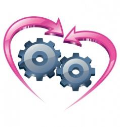 understanding and love vector image vector image