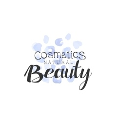 Cosmetics Beauty Promo Sign vector image vector image