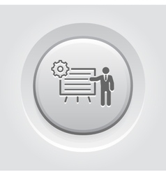Business Processes Icon vector image vector image