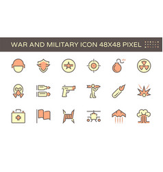 20200105 war icon red vector
