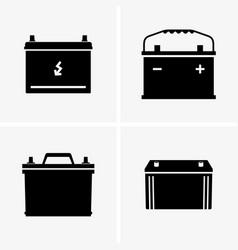 Automotive batteries vector