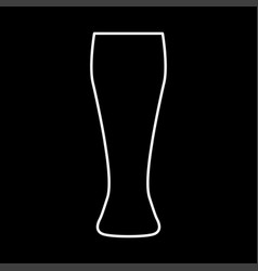 beer glass it is icon vector image