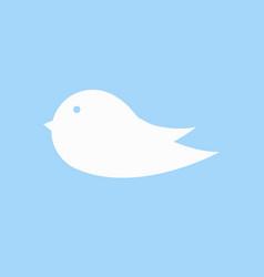 bird icon sign vector image