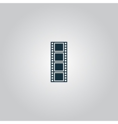 cinematographic film vector image