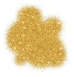 Gold glitter bright vector