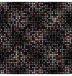 Halftone Dots Vintage Colors Style Seamless vector