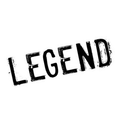 Legend rubber stamp vector