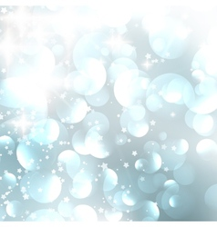 Lights on blue grey background vector image