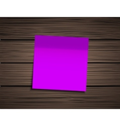 Modern square sticky note vector