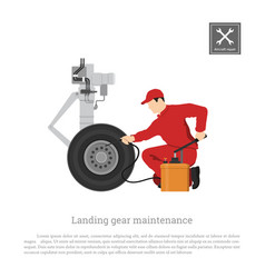 Repair and maintenance of aircraft vector