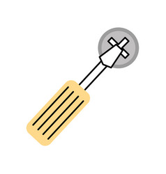 Screwdriver tool with screw vector
