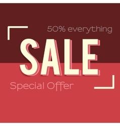 Super sale banner vector