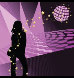 disco people vector image