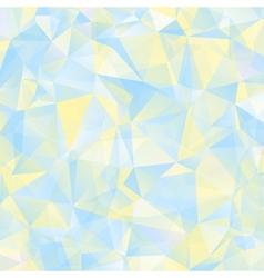 triangle geometric retro background vector image