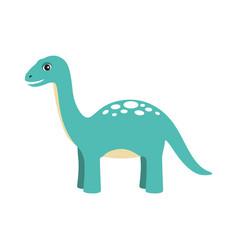 apatosaurus dinosaur type vector image