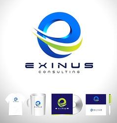 Corporate Letter E Logo vector