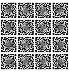 Design seamless spiral snakeskin pattern vector