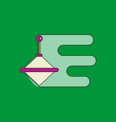 Flat icon design collection kids whirligig vector