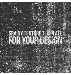Grainy texture template for your design vector