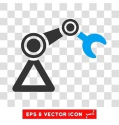 Manipulator Eps Icon vector