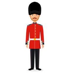 Queens guard man vector
