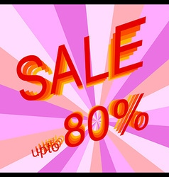 Sale 80 vector