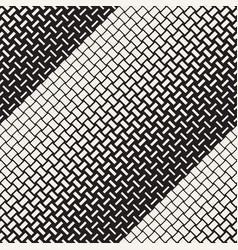 seamless geometric pattern halftone vector image