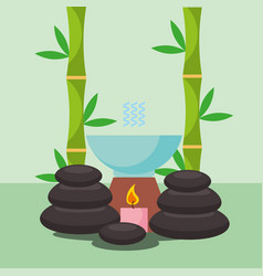 Spa wellness related vector