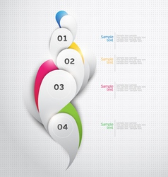 Abstract design vector image