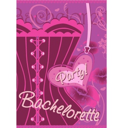 Wrapping gifts bachelorette party vector image vector image