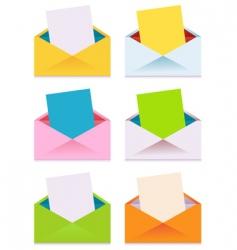 envelopes vector image vector image