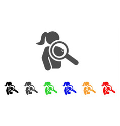 Find prostitute icon vector