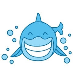 Smile Shark vector image vector image