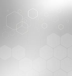 Abstract background hexagon vector
