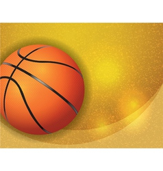 Basketball Highlights Texture vector image