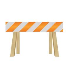 dead end traffic sign vector image