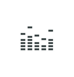 Equalizer icon simple vector