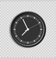 realistic clock set vector image