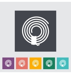 Rope icon vector image